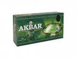 AKBAR CLASSIC GREEN TEA FANNINGS BOPF PŘEBAL 100X2G