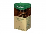 Greenfield BLACK CHOCOLATE TOFFEE PŘEBAL 25X1.5G