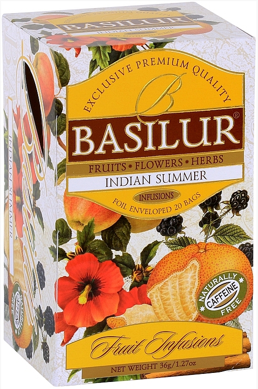 BASILUR Fruit Indian Summer přebal 20x1,8g