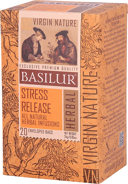 BASILUR Virgine Nature Stress Release přebal 20x1,2g