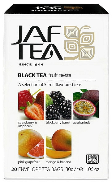 JAFTEA Black Fruit Fiesta přebal 4x5x1,5g