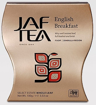 JAFTEA Black English Breakfast FBOP papír 100g