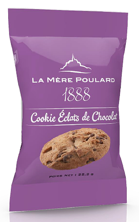 La Mére Poulard Sables Eclats Chocolate Chip Cookie 1 biscuit 22,2g