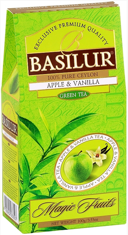 BASILUR Magic Green Apple & Vanilla papír 100g