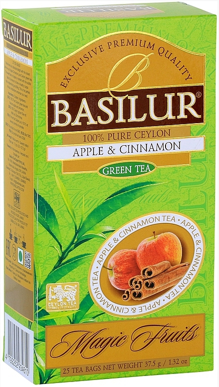 BASILUR Magic Apple & Cinnamon nepřebal 25x1,5g