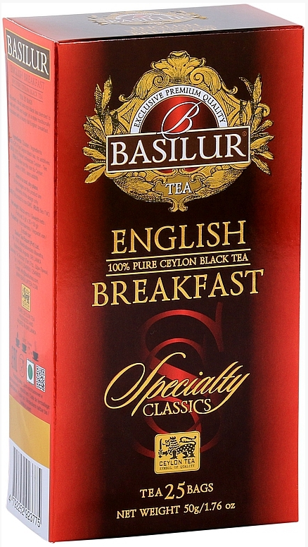 BASILUR Specialty English Breakfast nepřebal 25x2g