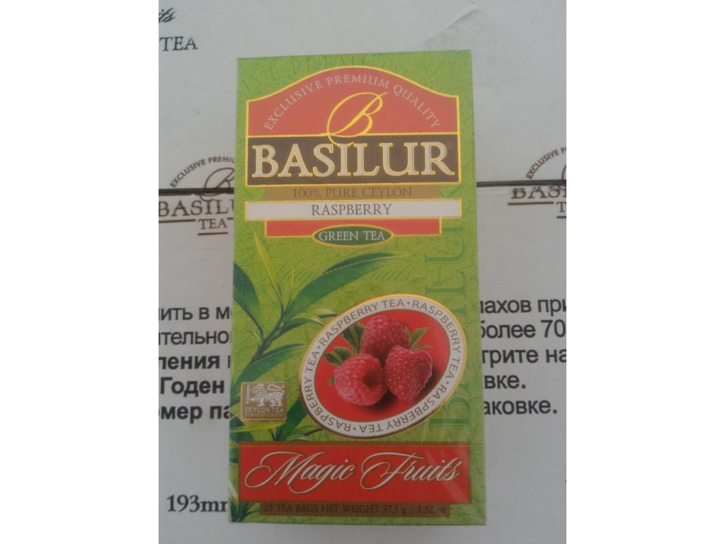 BASILUR Magic Raspberry nepřebal 25x1,5g