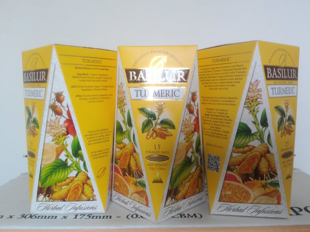 BASILUR Herbal Infusions Turmeric 15x2g