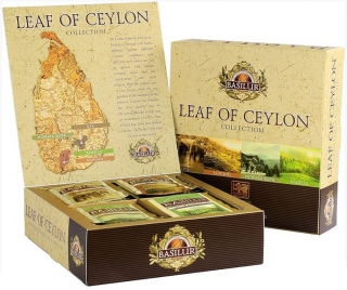 BASILUR Leaf of Ceylon Assorted přebal 40 gastro sáčků