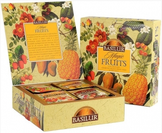 BASILUR Magic Fruits Assorted přebal 40 gastro sáčků