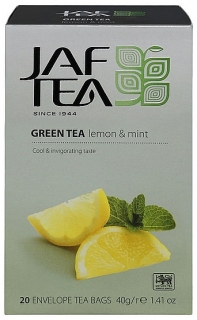 JAFTEA Green Lemon Mint přebal 20x2g