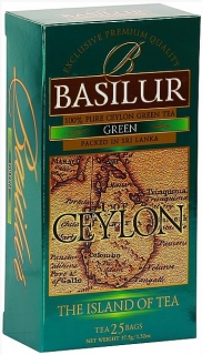 BASILUR Island of Tea Green nepřebal 25x1,5g