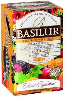BASILUR Fruit Infusions Assorted Vol. I. přebal 20x1,8g