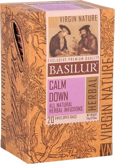 BASILUR Virgine Nature Calm Down přebal 20x1,2g