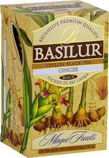 BASILUR Magic Ginger Tea přebal 20x2g