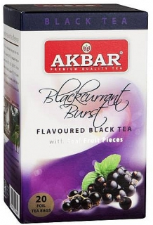 AKBAR Black Currant Burst BOPF přebal 20x2g