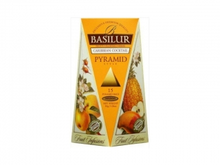 BASILUR FRUIT CARIBBEAN COCKTAIL PYRAMID 15X2G