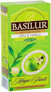BASILUR Magic Apple & Vanilla nepřebal 25x1,5g
