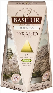 BASILUR Four Seasons Spring Pyramid 15x2g